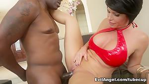 Best pornstars Lexington Steele, Betsy Blue, Shay Fox in Hottest MILF, Big Tits adult scene