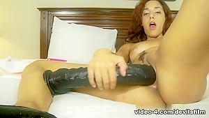 Best pornstar Gia Steel in Exotic Dildos/Toys, Masturbation sex video