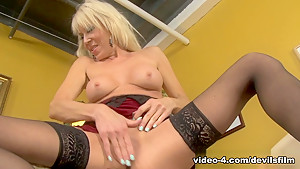 Incredible pornstars Erica Lauren, Carmen McCarthy in Exotic Stockings, MILF xxx video