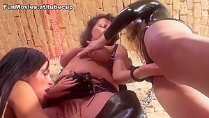Crazy pornstar Kandi Cox in Incredible Latex, Dildos/Toys sex scene