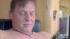 Incredible pornstars in Crazy Brunette, Mature adult video