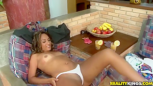 Thais and Tony Tigrao in cool Latin porn