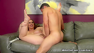 Hottest pornstars Alex Chance, Damon Dice in Crazy Redhead, Big Tits sex video