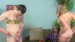Sexy HotWife Kagney Linn Karter Gets Fucked By BBC While Cuckold Watching