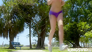Dakota Skye In Just A Friendly Jog