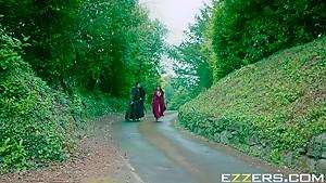 Ayda Swinger And Romi Rain In Queen Of Thrones Part 3
