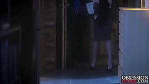 Brunette Rebecca Volpetti gets that anal doze from boyfriend