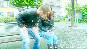 Casual Teen Sex - Kelly Jai - Sex trick for a pickuper