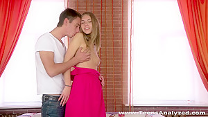 Teens Analyzed - Krystal Boyd - High-heeled teen model assfucked