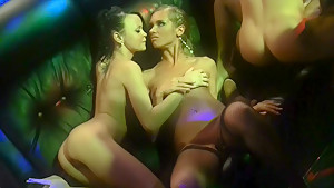 Melanie B & July & Bianca & Savannah & Stacy Cute in orgy movie with some very beautiful college chicks