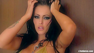 LiveGonzo Jenna Presley Busty Slut Takes it Good