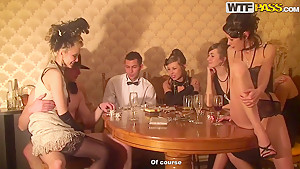 A very steamy lil roaring '20s themed party