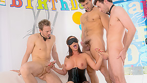 Diamond's Bday Gangbang