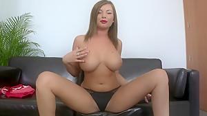 Nice tits and s nice back