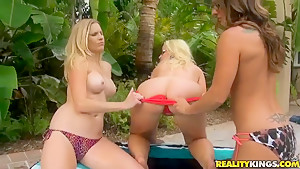 Talk to this Girl presents three sexy lesbian babes